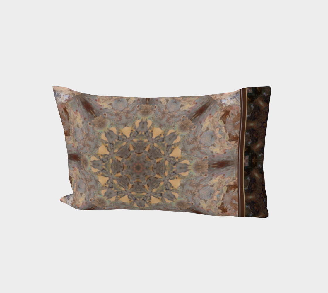 Copper Brown Caramel Peach Boho Mandala aperçu