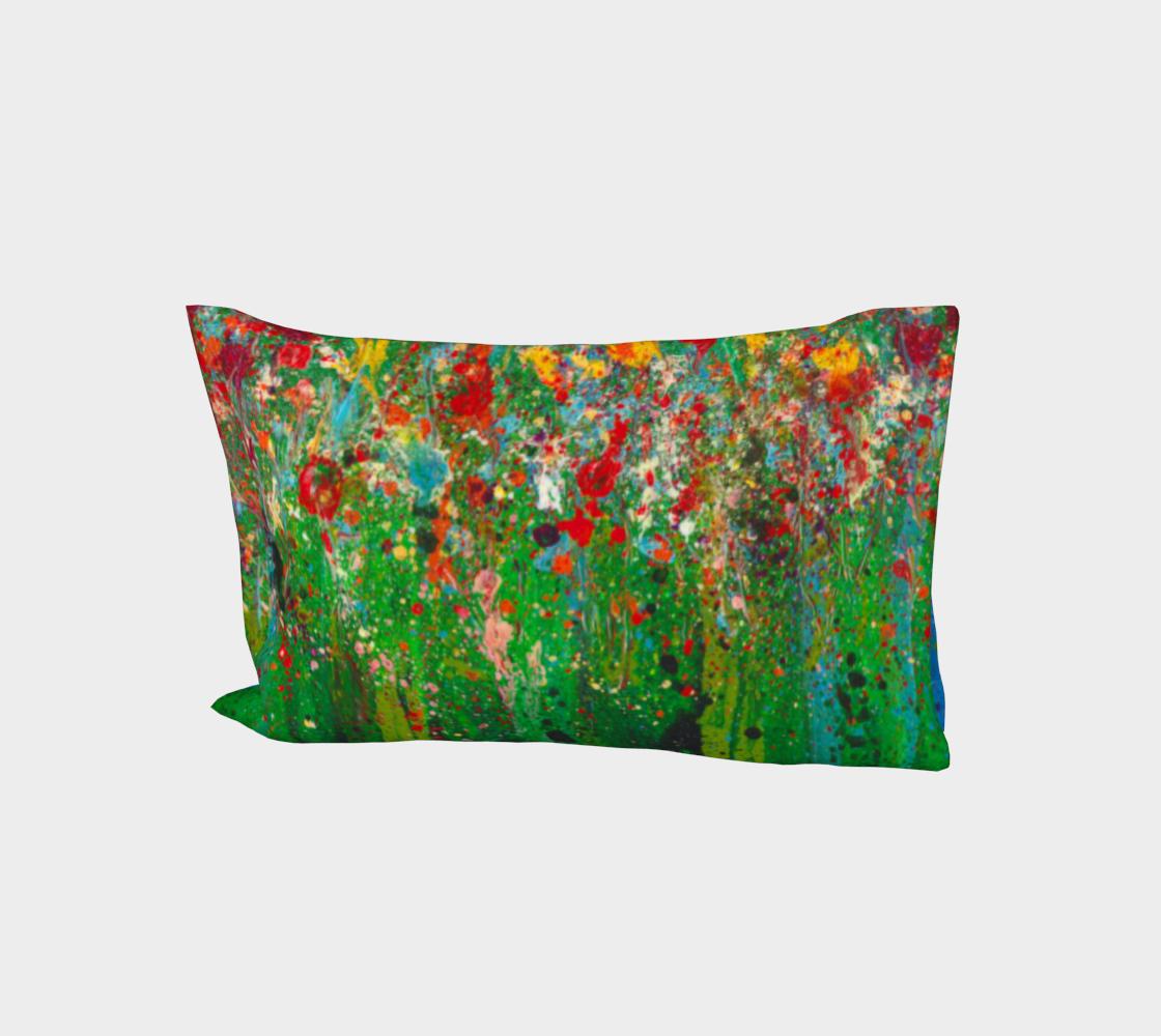 Secret Garden Cotton Pillow Sleeve aperçu