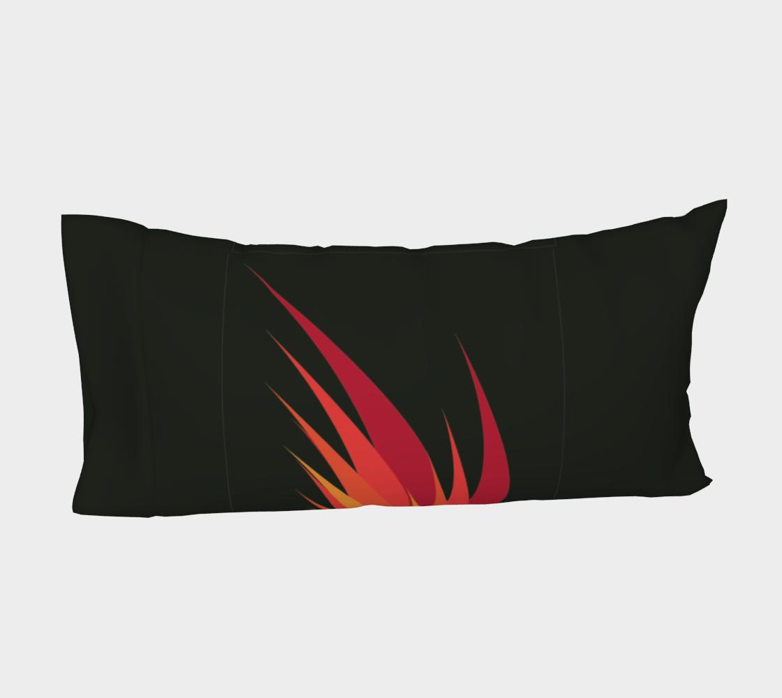 Aperçu de Taie d'oreiller - Flammes #4