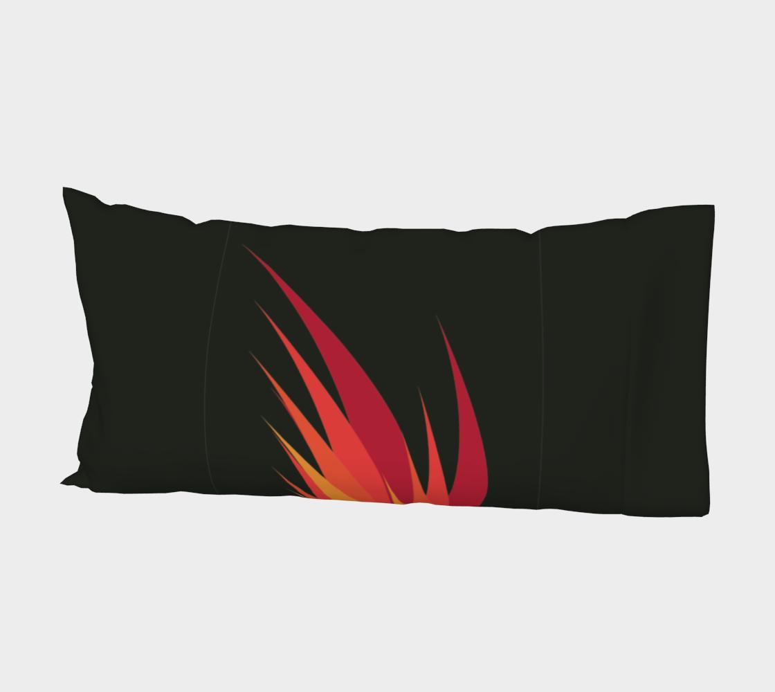 Aperçu de Taie d'oreiller - Flammes #2