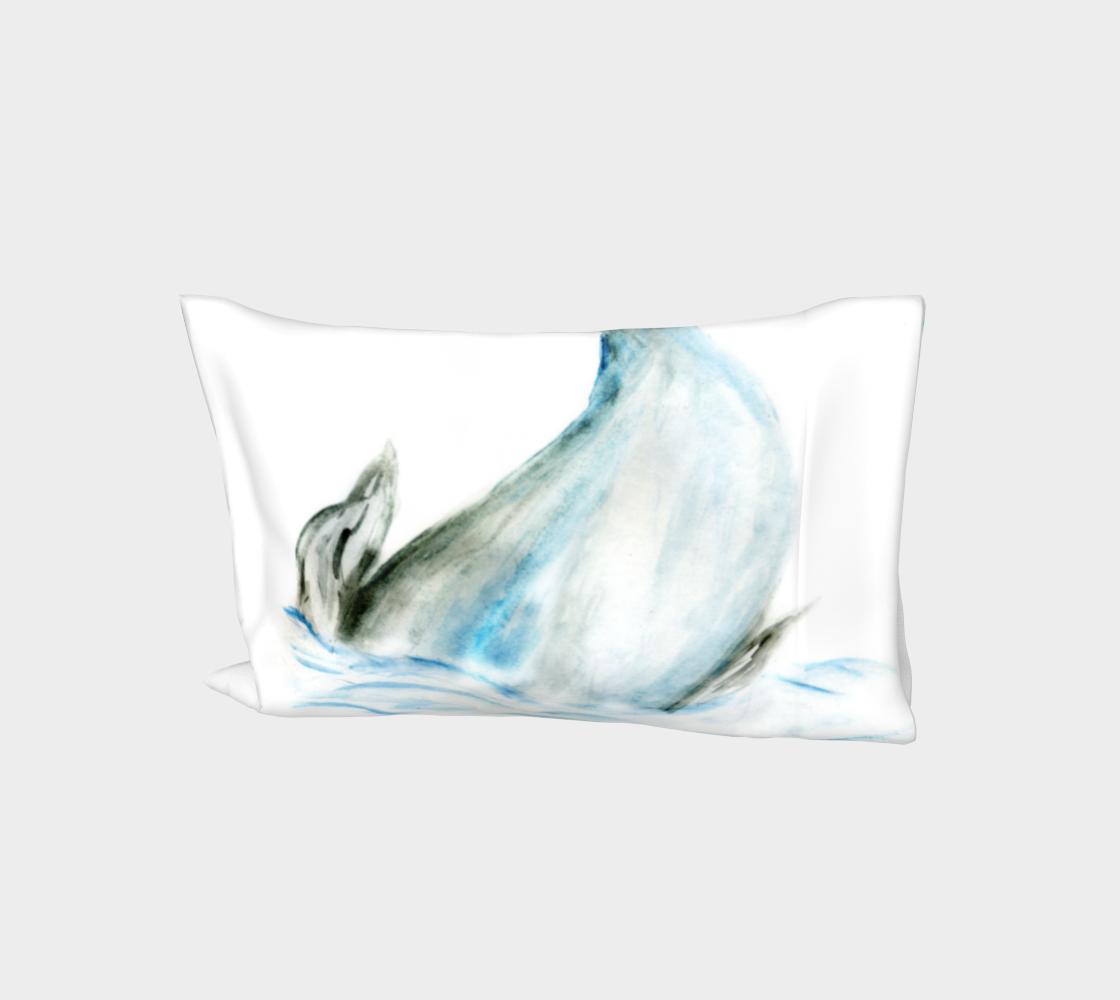 Whale tail hand drawn aperçu