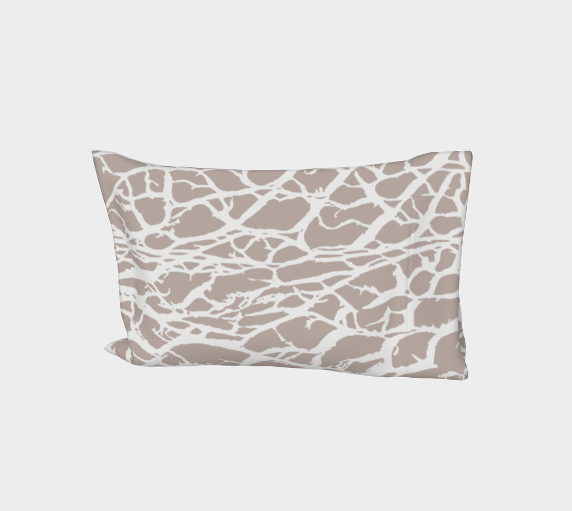 Desert Frost Bed Pillow Sleeve aperçu