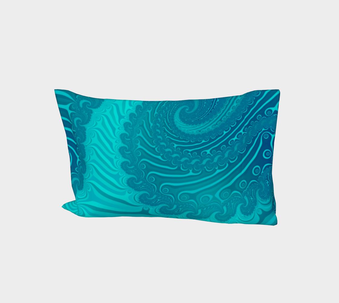 Ocean Waves Turquoise aperçu