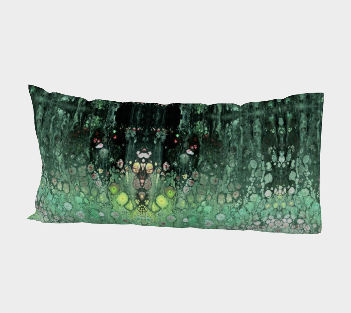 Aperçu de Seafoam Abstract Pillow Sleeve #2