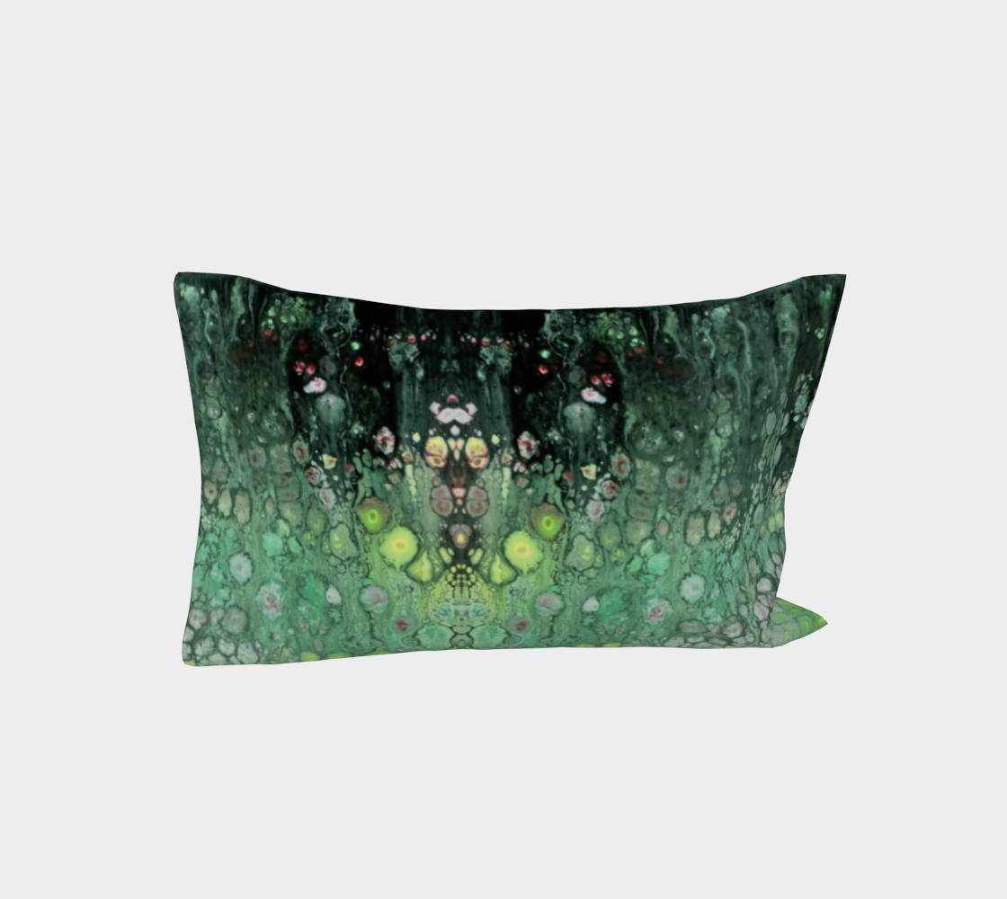 Aperçu de Seafoam Abstract Pillow Sleeve #3