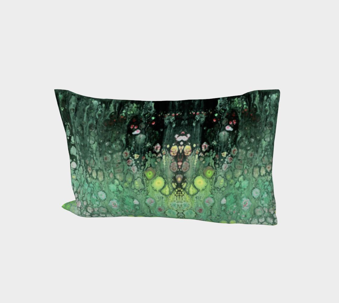 Aperçu de Seafoam Abstract Pillow Sleeve #1