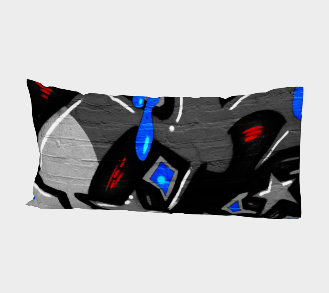 Graffiti 3 Bed Pillow Sleeve preview #2