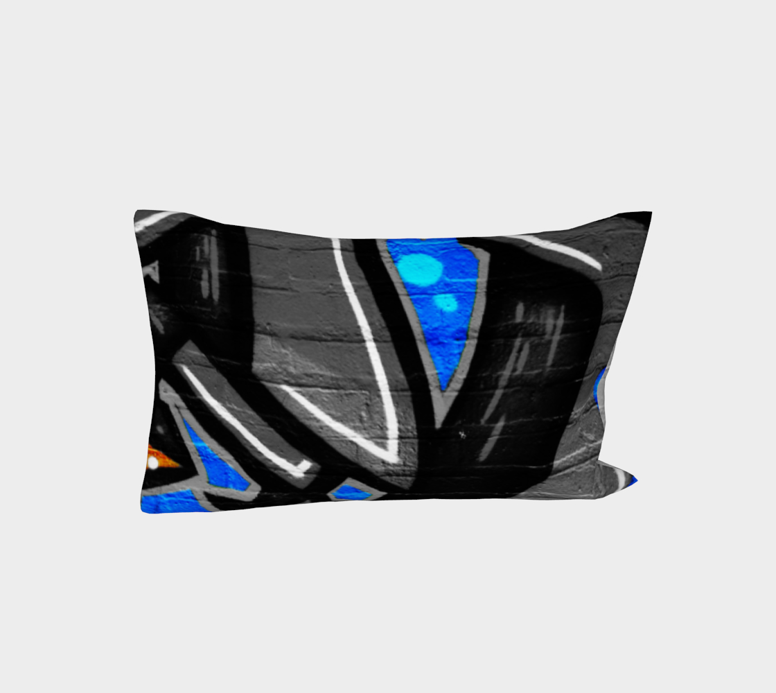 Graffiti 3 Bed Pillow Sleeve preview #3