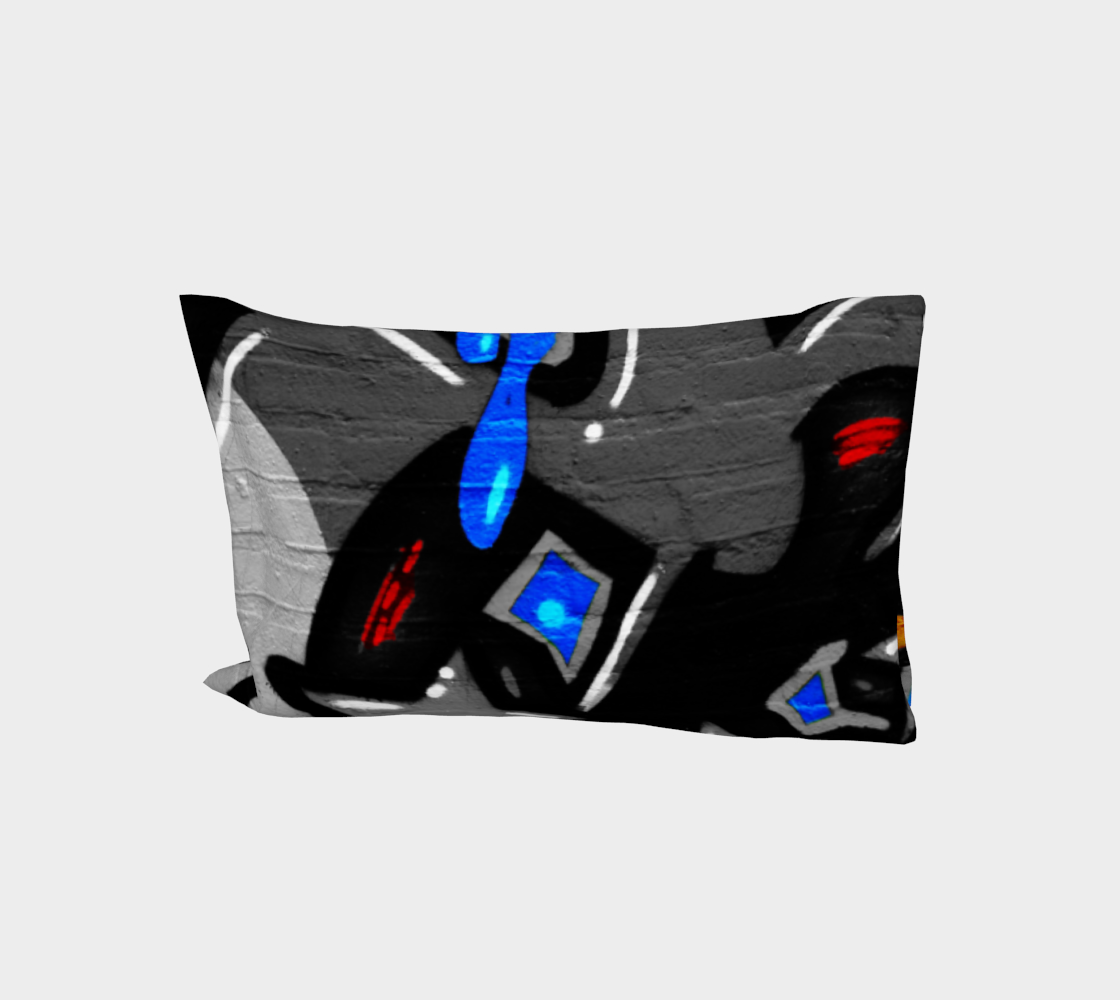 Graffiti 3 Bed Pillow Sleeve preview