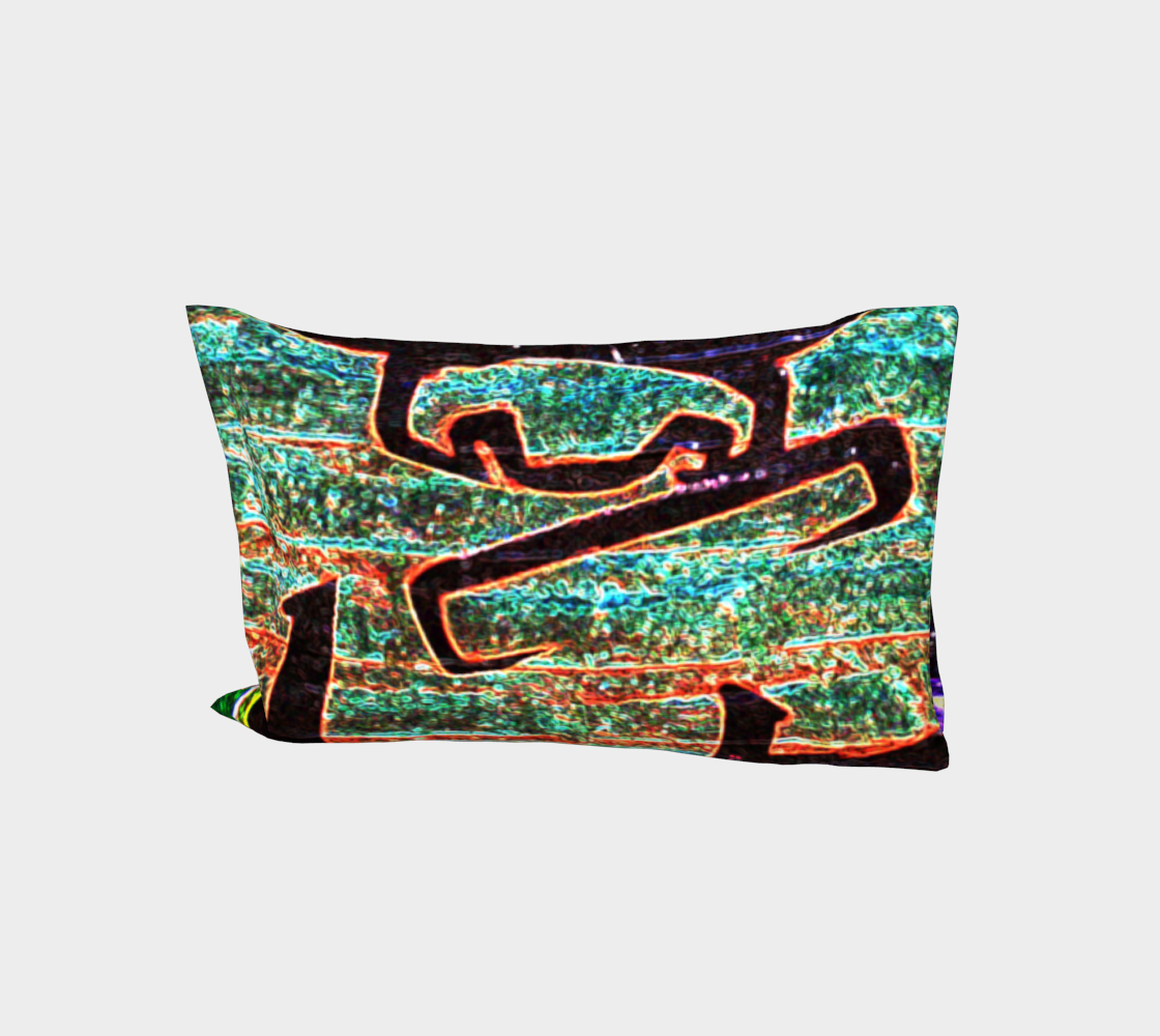Graffiti 7 Bed Pillow Sleeve preview