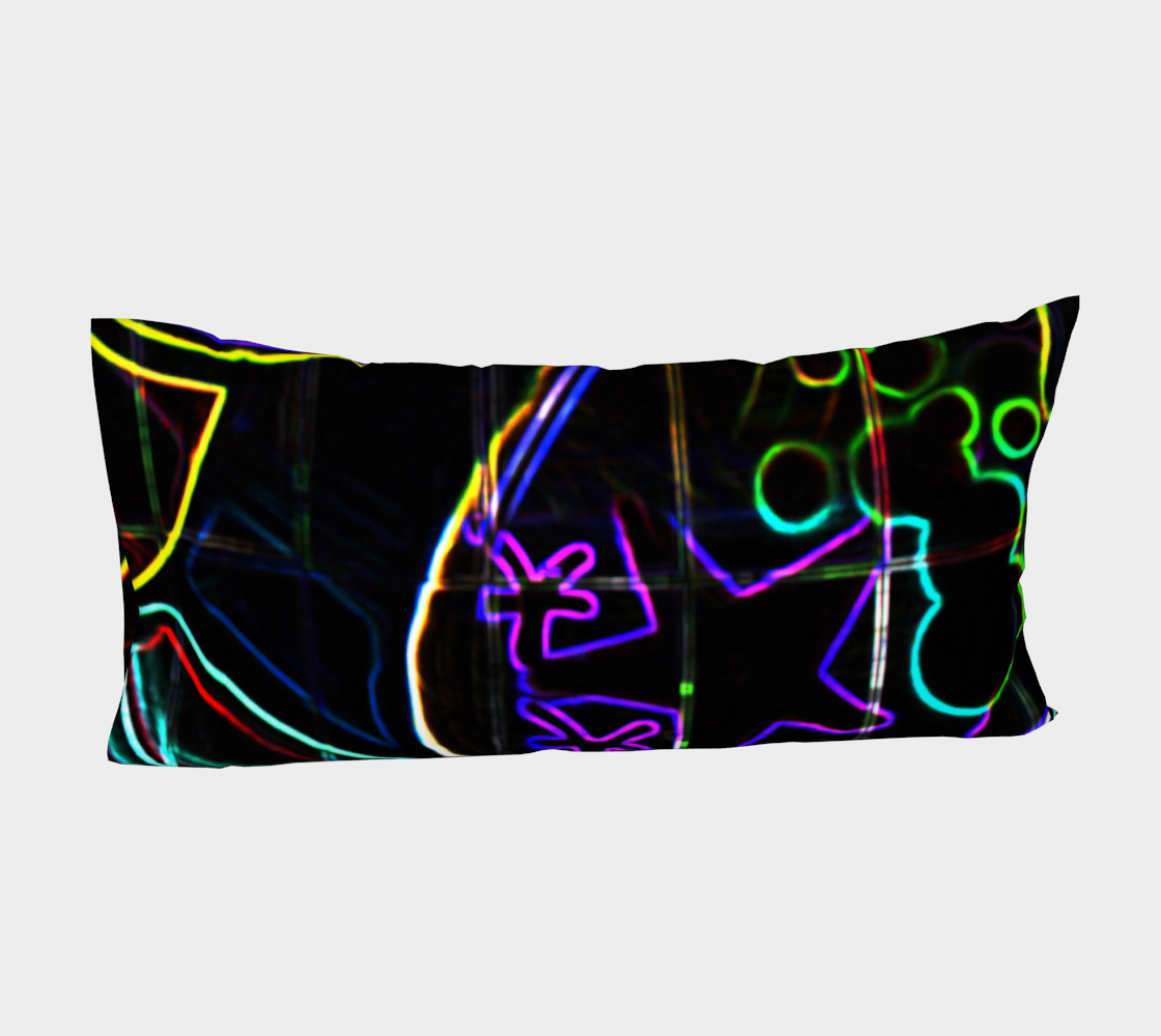 Graffiti 10 Bed Pillow Sleeve preview #4