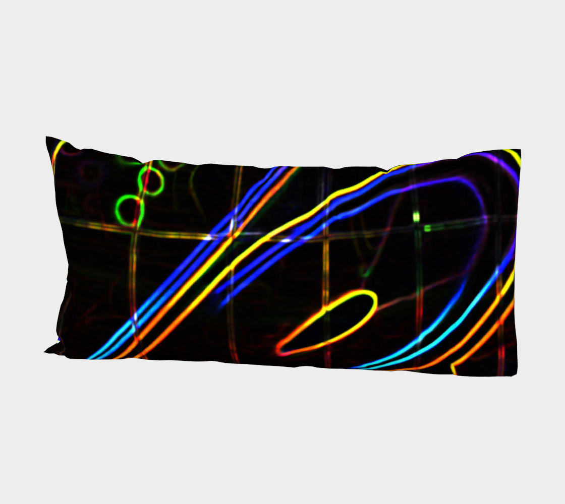 Graffiti 10 Bed Pillow Sleeve preview #2