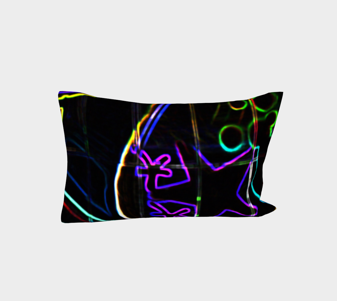 Graffiti 10 Bed Pillow Sleeve preview #3