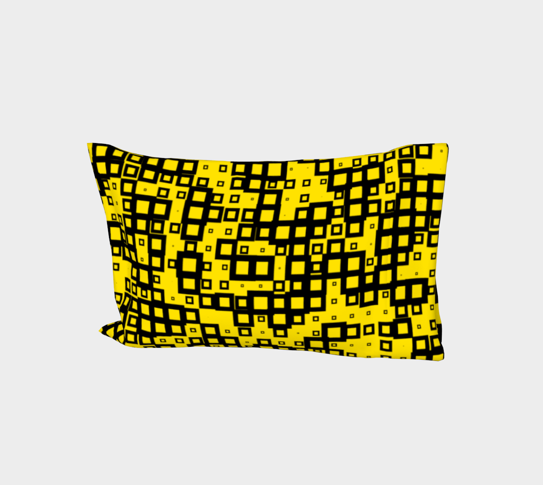 Black Squares on Yellow preview