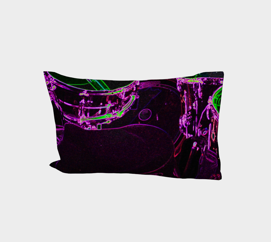 Drums Bed Pillow Sleeve preview