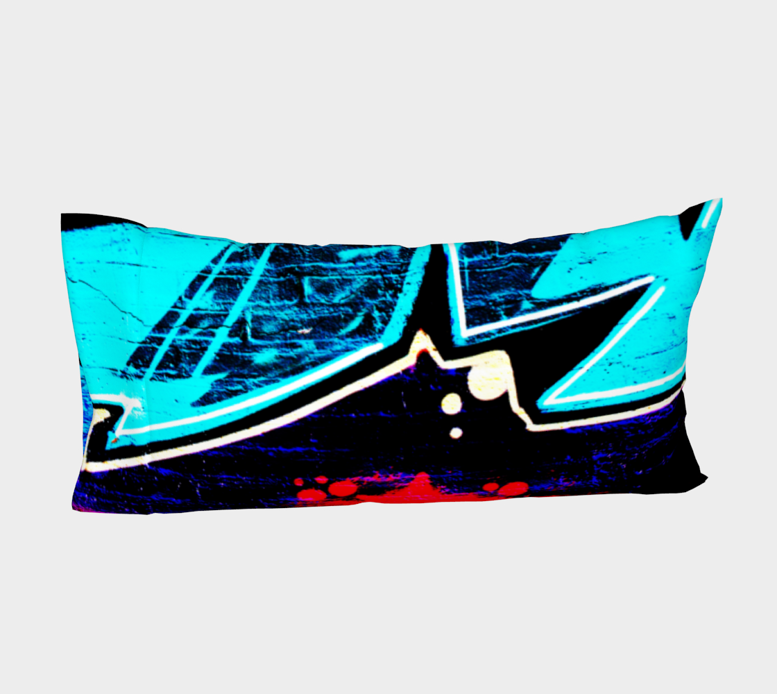 Graffiti 14 Bed Pillow Sleeve preview #4