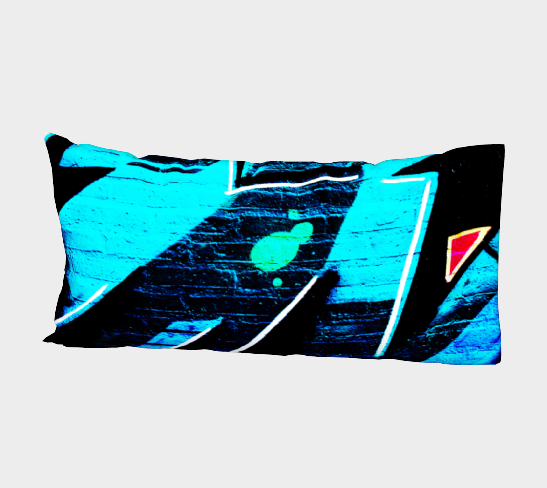 Graffiti 14 Bed Pillow Sleeve preview #2