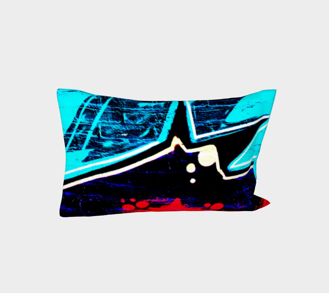 Graffiti 14 Bed Pillow Sleeve thumbnail #4