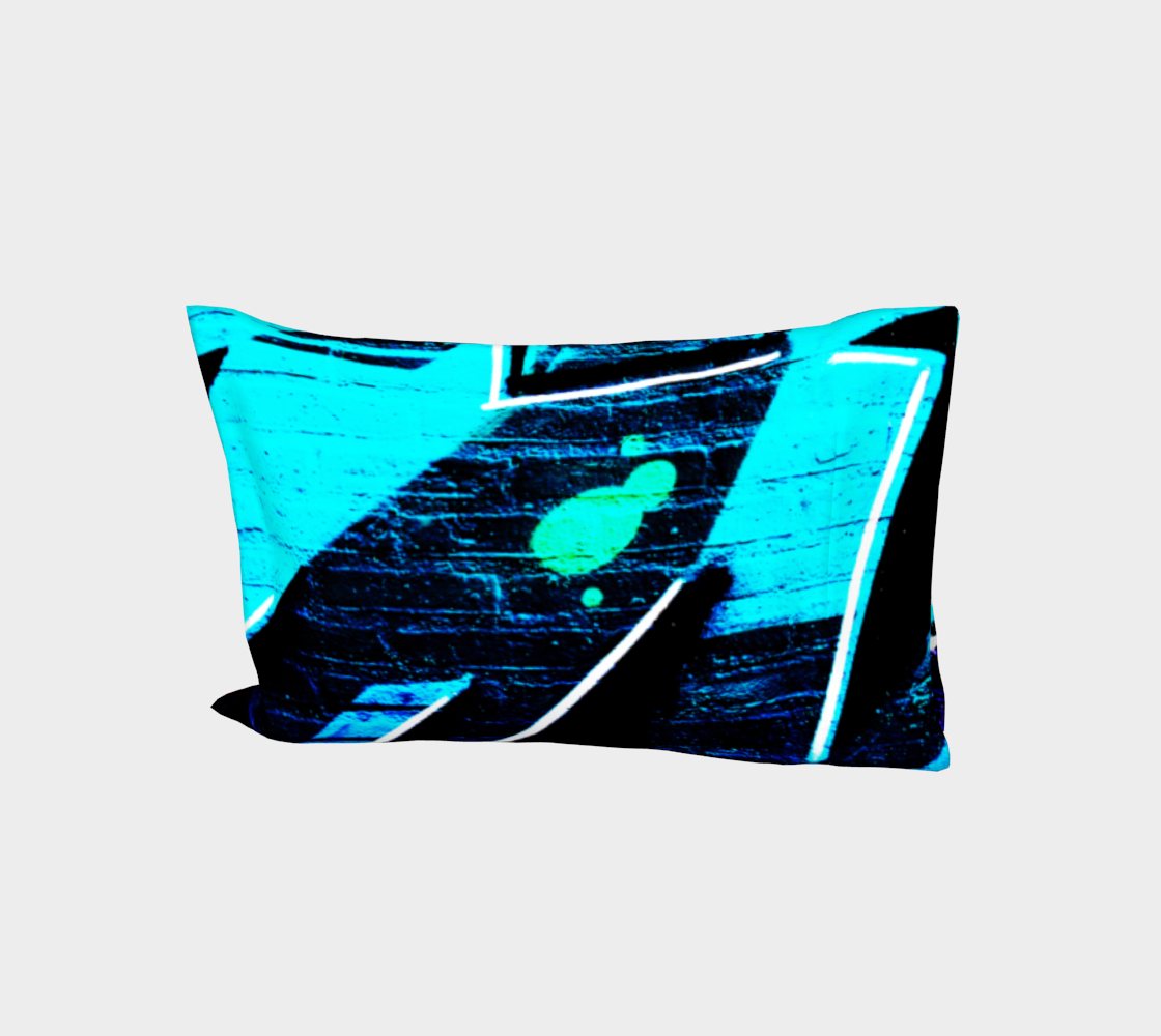 Graffiti 14 Bed Pillow Sleeve 3D preview
