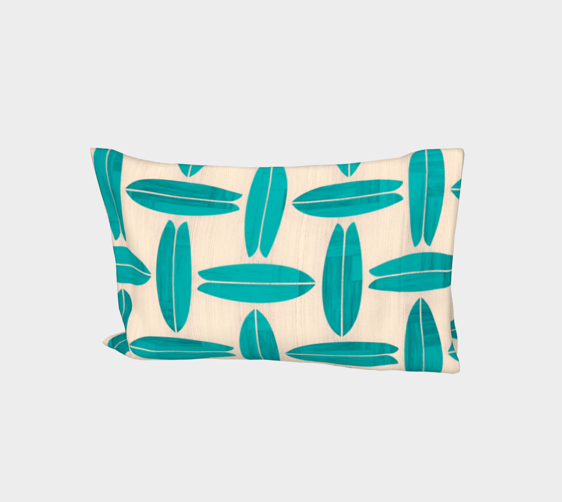 Teal Surfboard Pattern preview
