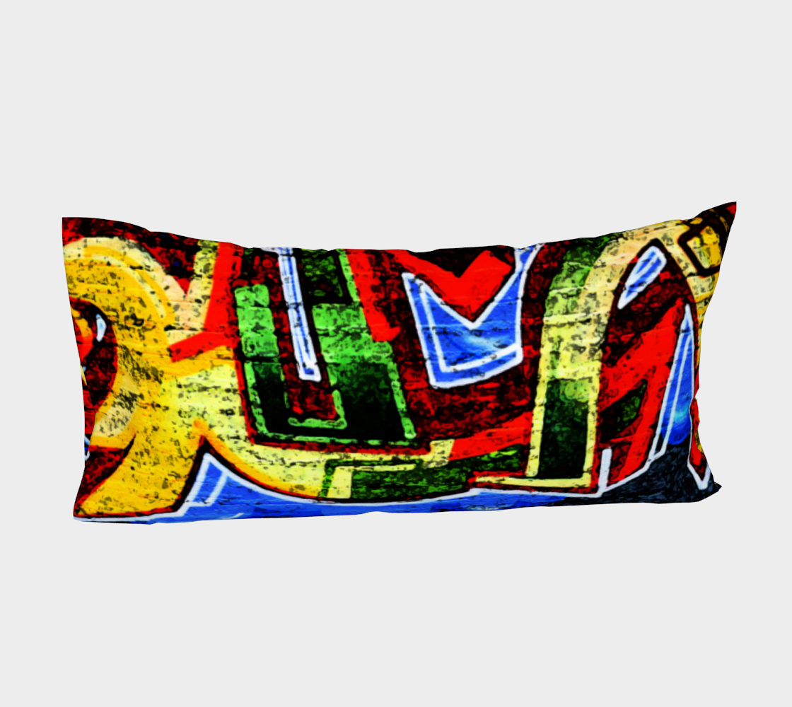 Graffiti 17 Bed Pillow Sleeve preview #4