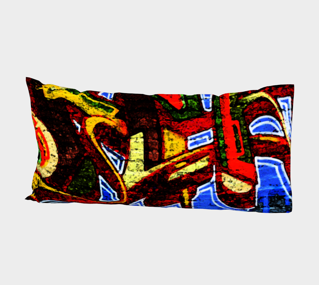 Graffiti 17 Bed Pillow Sleeve preview #2