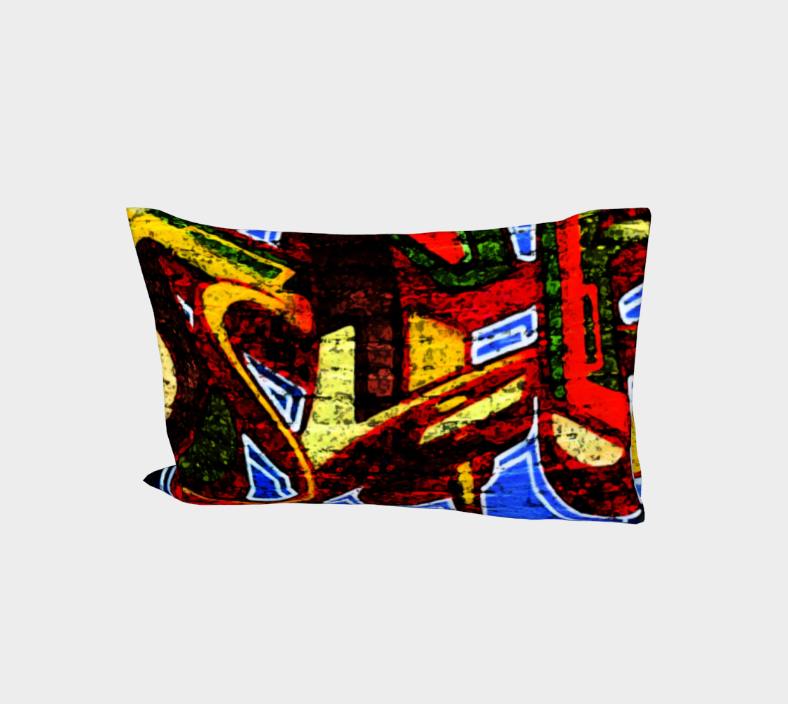 Graffiti 17 Bed Pillow Sleeve preview