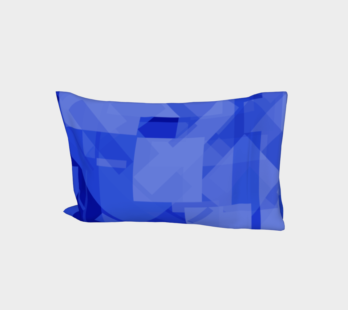 Blue is Better Bed Pillow Sleeve preview