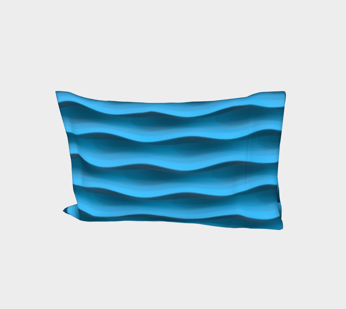 Wave Rows Blue preview