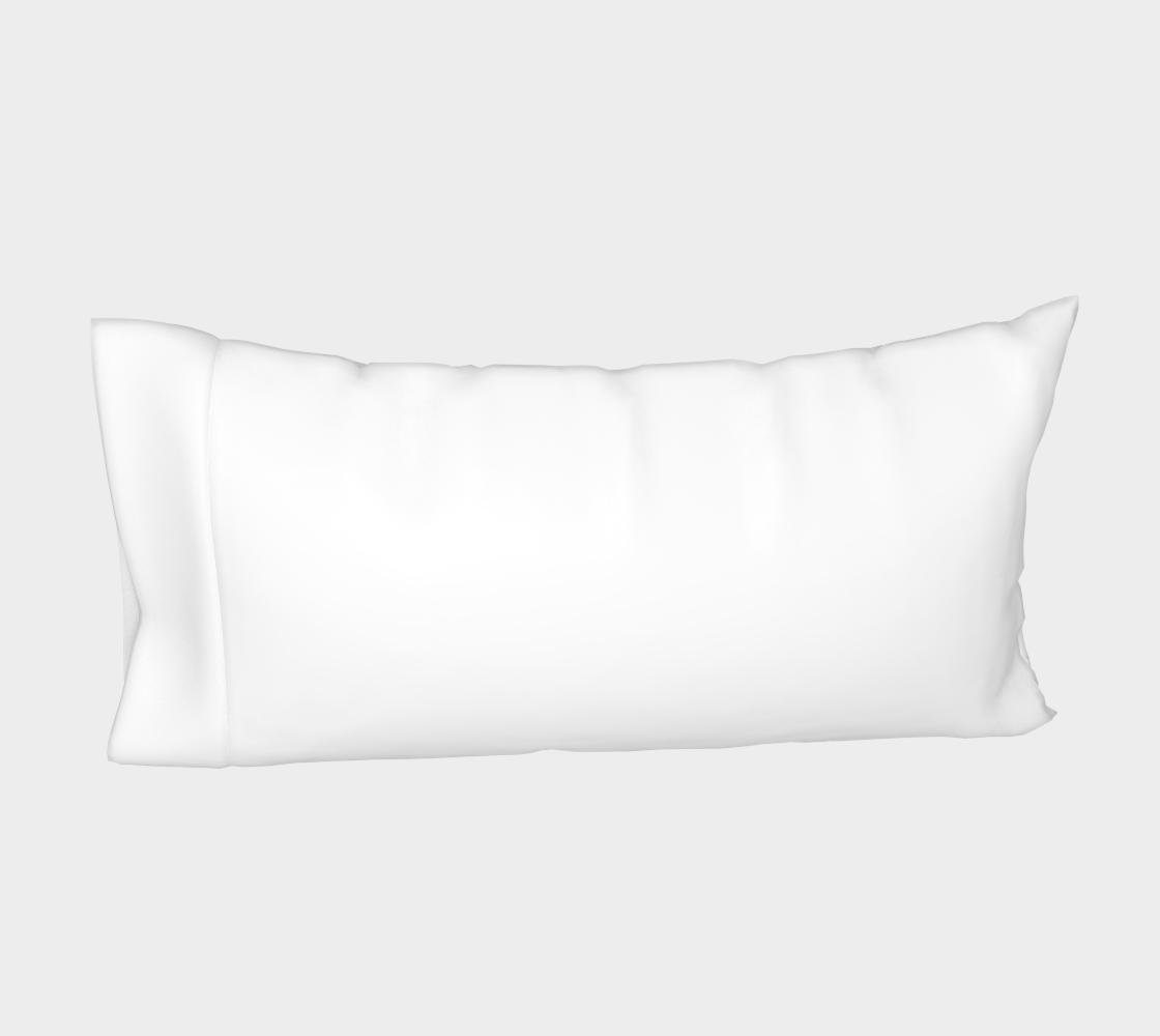Labrador Retriever chocolate cartoon bed pillow sleeve preview #4