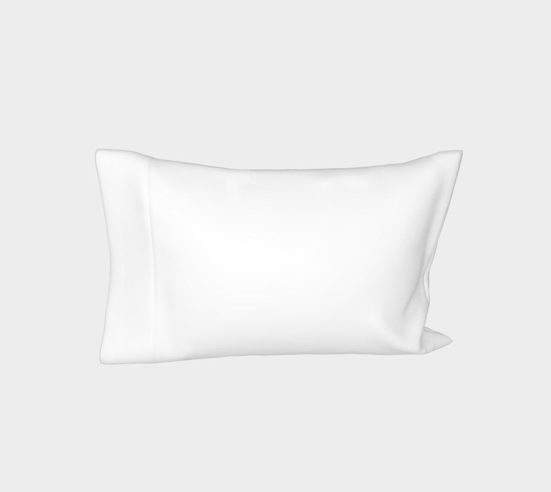 Labrador Retriever chocolate cartoon bed pillow sleeve preview #3