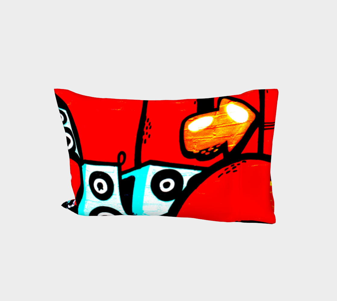 Graffiti 19 Bed Pillow Sleeve preview