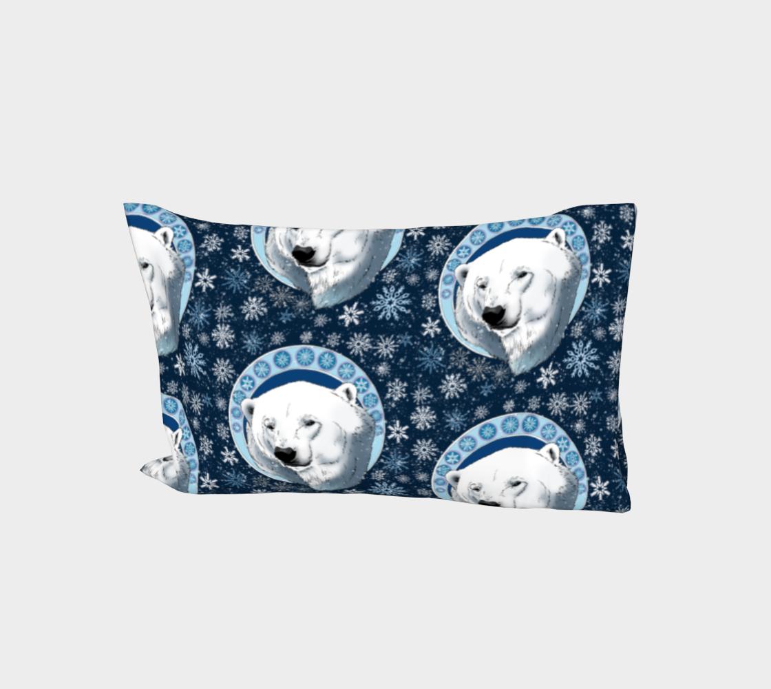 Polar Bear Snowflakes aperçu