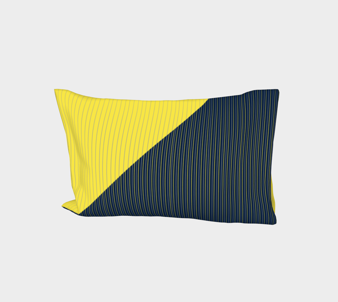 Get in line - Yellow and Navy line aperçu