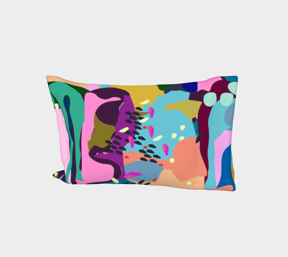 pop colour pillow case aperçu