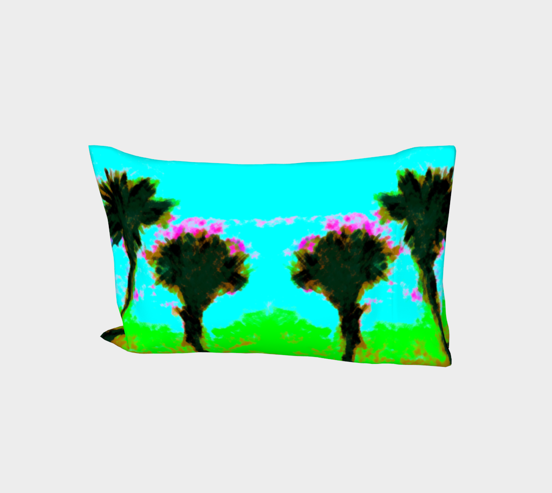 Twilight Palms Pillow Sleeve aperçu