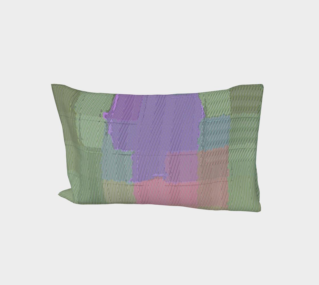 Lavender Sage Bed Pillow Sleeve aperçu