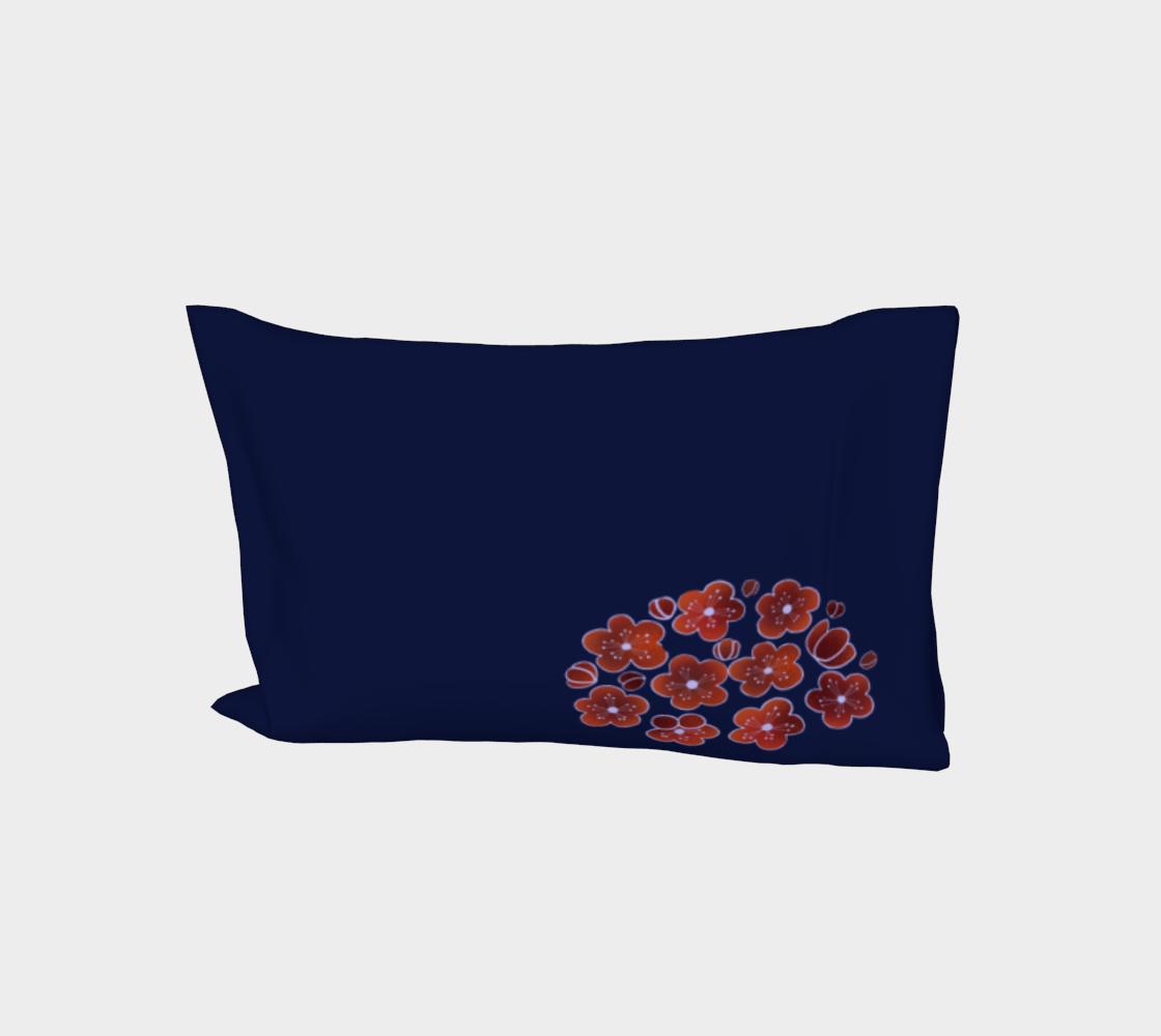 Plum Blossom R, mid indigo aperçu
