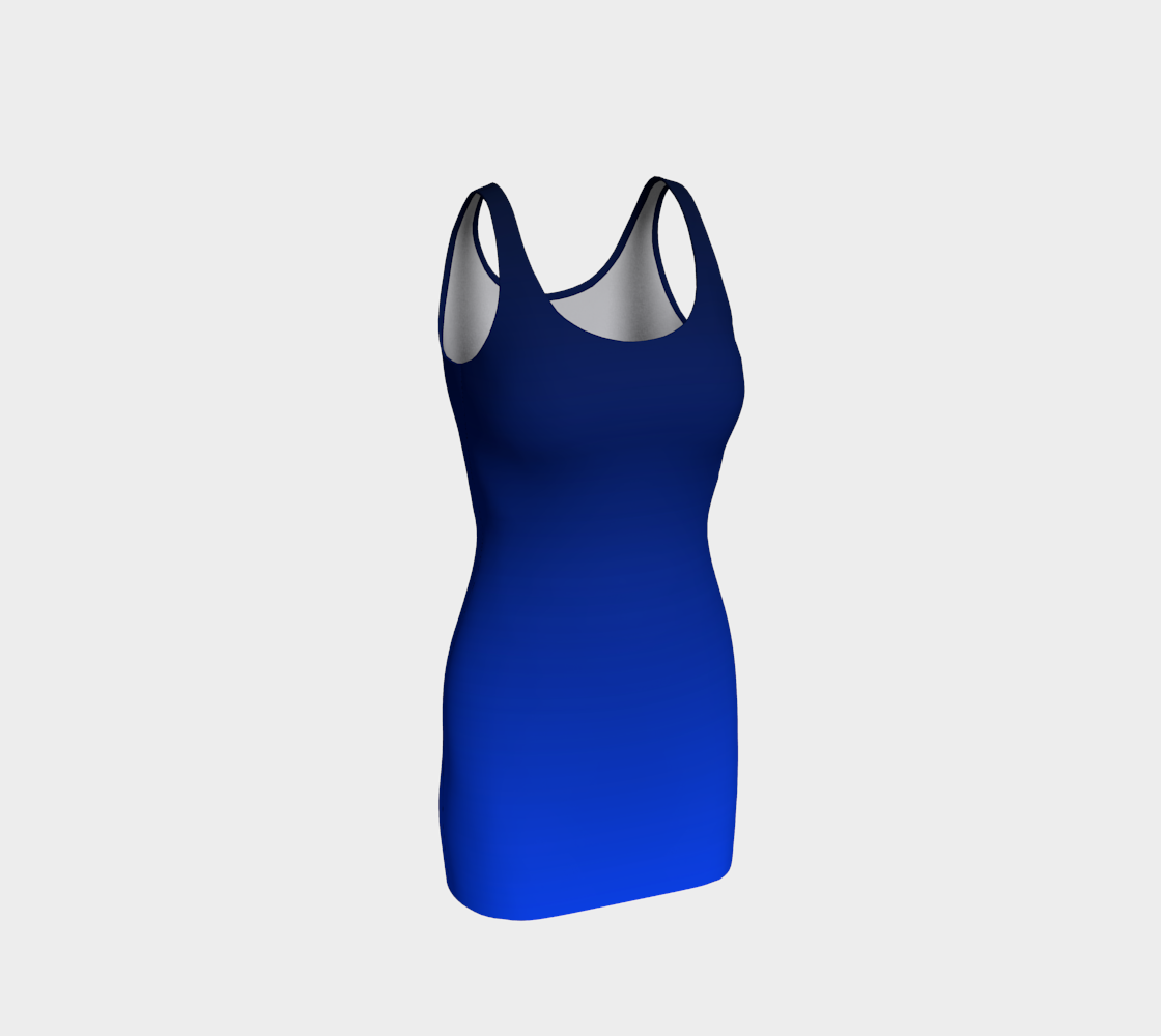 Blue Midnight Bodycon Dress preview