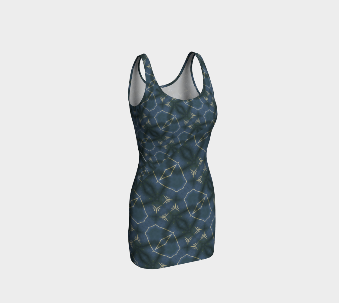 Carbon Street Constellation 3-D Bodycon preview