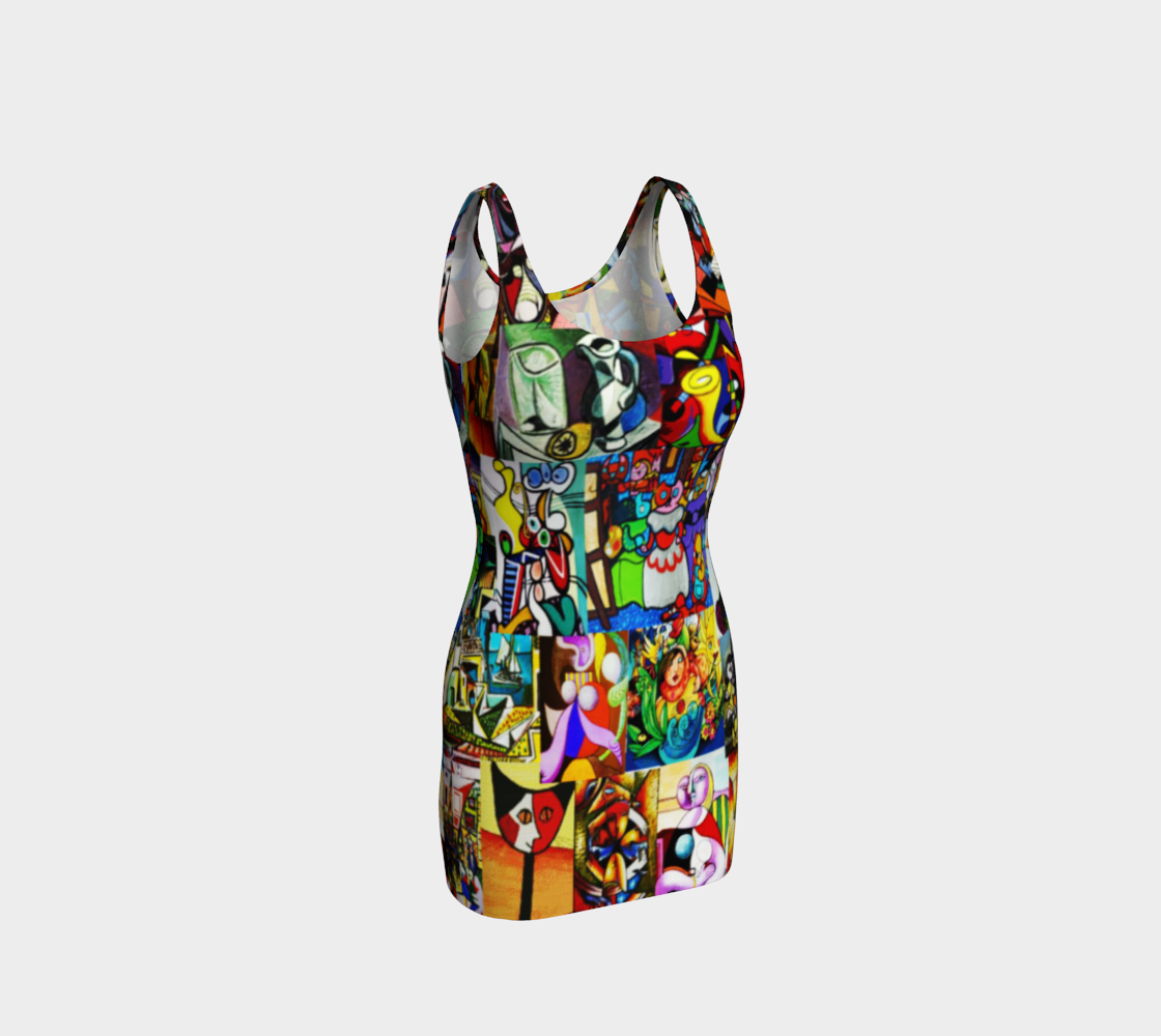 Picasso montage dress preview