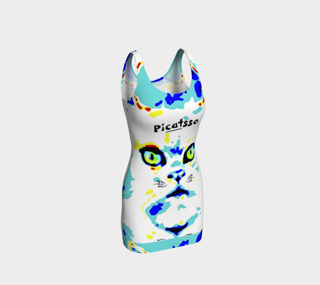 Picatsso / Official Full-Face Crazy Catnip Dance Bodycon preview