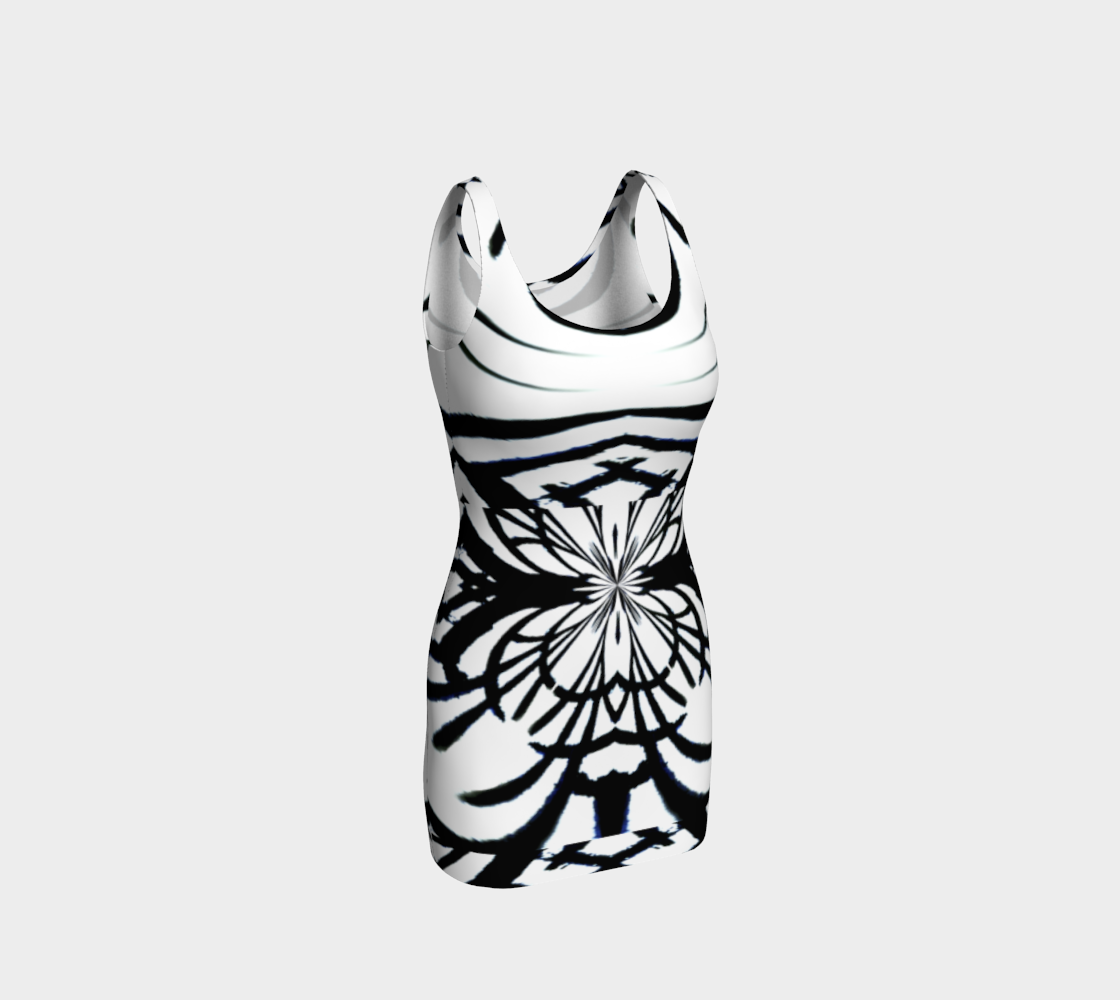 Chamber Jazz  /  Bold Flower-Graph Dress preview
