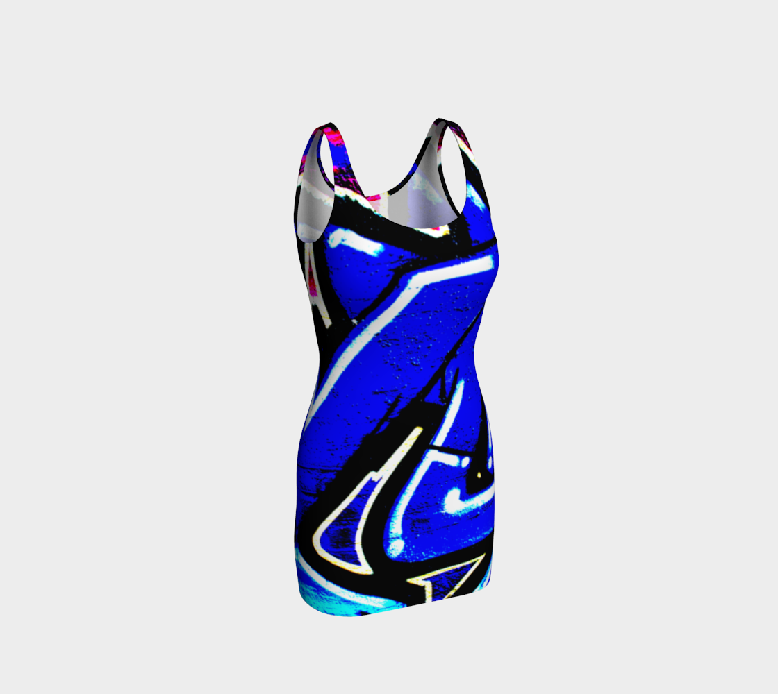 Graffiti 13 Bodycon Dress preview