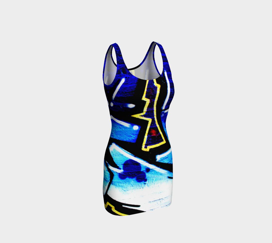 Graffiti 15 Bodycon Dress preview