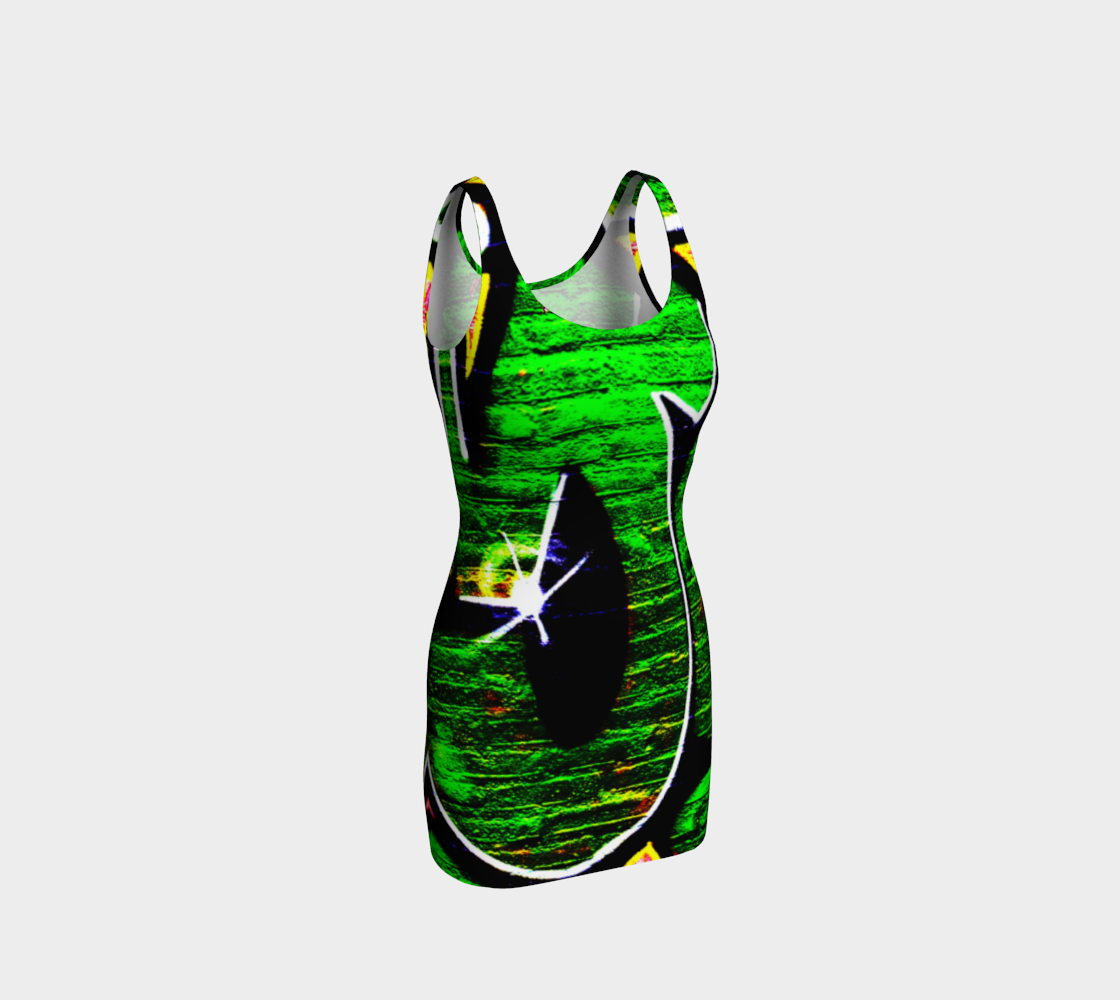 Graffiti 18 Bodycon Dress preview