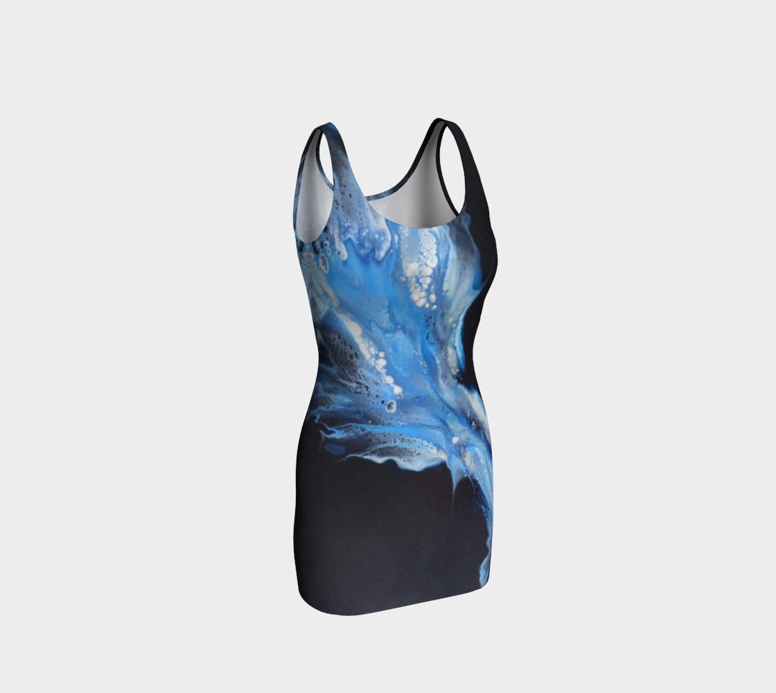 Aperçu de Flambée bleue - #1 Robe moulante