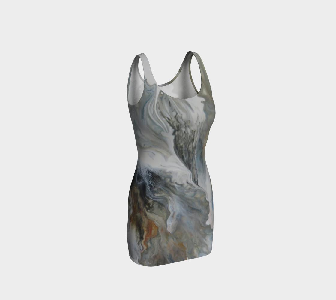 Aperçu de Nuages d'automne - #2 Robe moulante