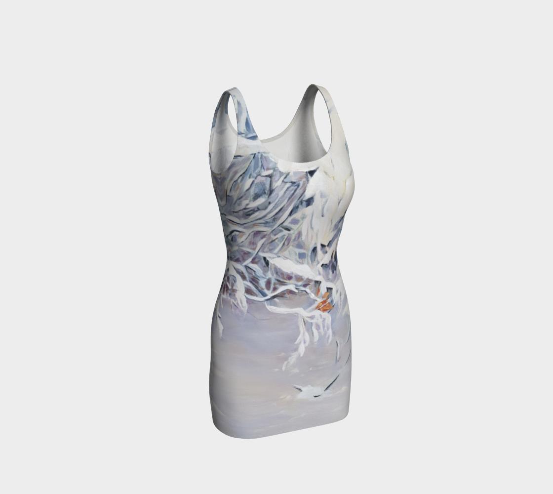 Snowy Boughs Bodycon Dress preview