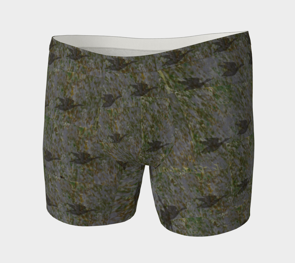 Silhouette duck on camo preview